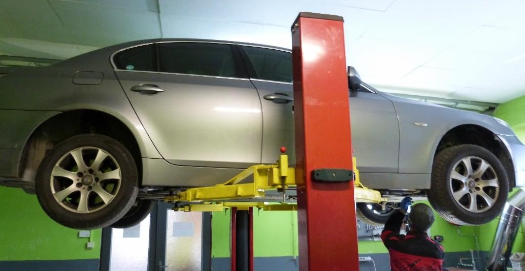BMW 530d vymena oleja v automatickej prevodovke
