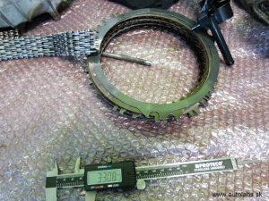 audi a4 2008 - počas opravy automatickej prevodovky