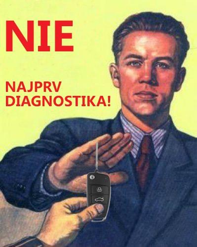 pred kúpou ojazdeného auta s automatickou prevodovkou vykonajte diagnostiku